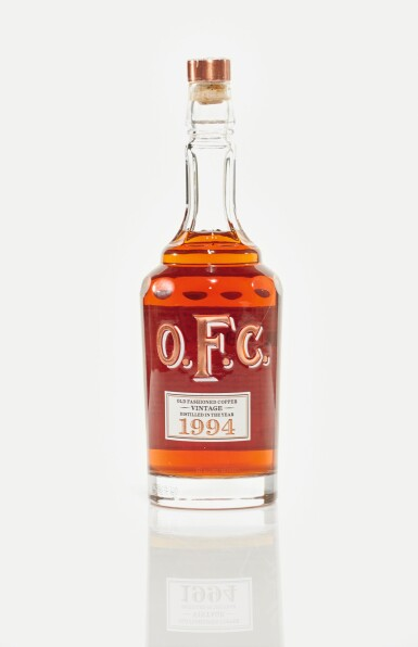 View 2. Thumbnail of Lot 66. Old Fashion Copper OFC Bourbon 45.0 abv 1994 (1 BT75cl).