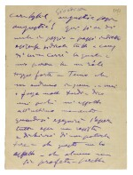 G. Puccini. Six autograph letters and postcards about the Paris premiere of Madama Butterfly, 1906