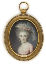 Portrait of a lady, traditionally identifed as the Comtesse de Provence