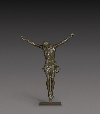 View 1. Thumbnail of Lot 160. French, 17th century   Crucifix.