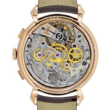 VACHERON CONSTANTIN | 18K PINK GOLD CHRONOGRAPH WRISTWATCH, REF 4178