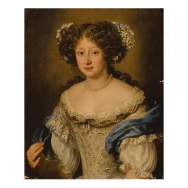 JACOB FERDINAND VOET | PORTRAIT OF FRANCESCA GREPPI FANI (1658-1732), HALF LENGTH