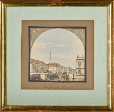 View 2. Thumbnail of Lot 48. Die Schlossbrücke (The Schlossbrücke Bridge).