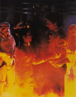 THE EMPIRE STRIKES BACK, SET OF FOUR CRISCO OIL TIE-IN PROMOTIONAL POSTERS, US, 1980