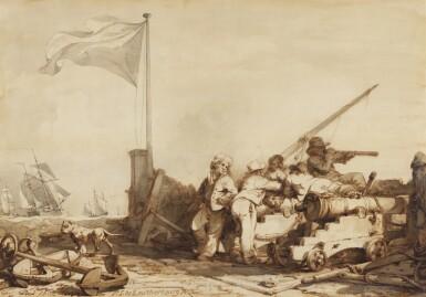 PHILIP JAMES DE LOUTHERBOURG | Coastguards at Margate