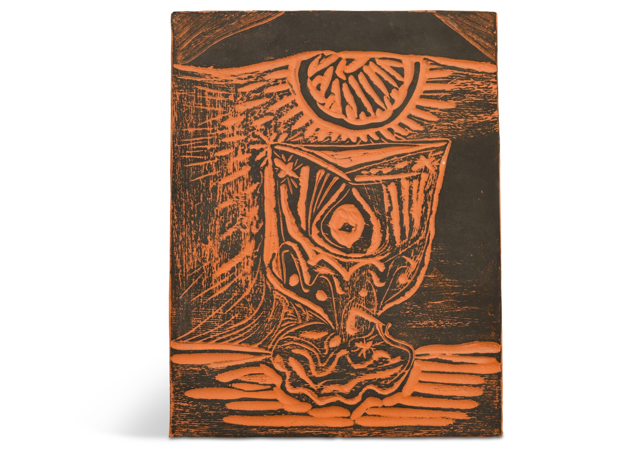 View full screen - View 1 of Lot 64. PABLO PICASSO   VERRE SOUS LAMPE (A.R. 519).