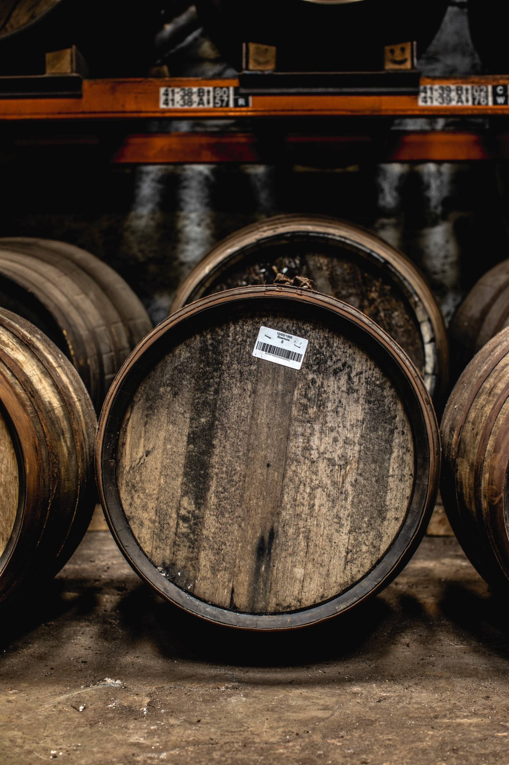 View full screen - View 1 of Lot 289. FIRST FILL OLOROSO SHERRY CASK OF BOWMORE 1995.