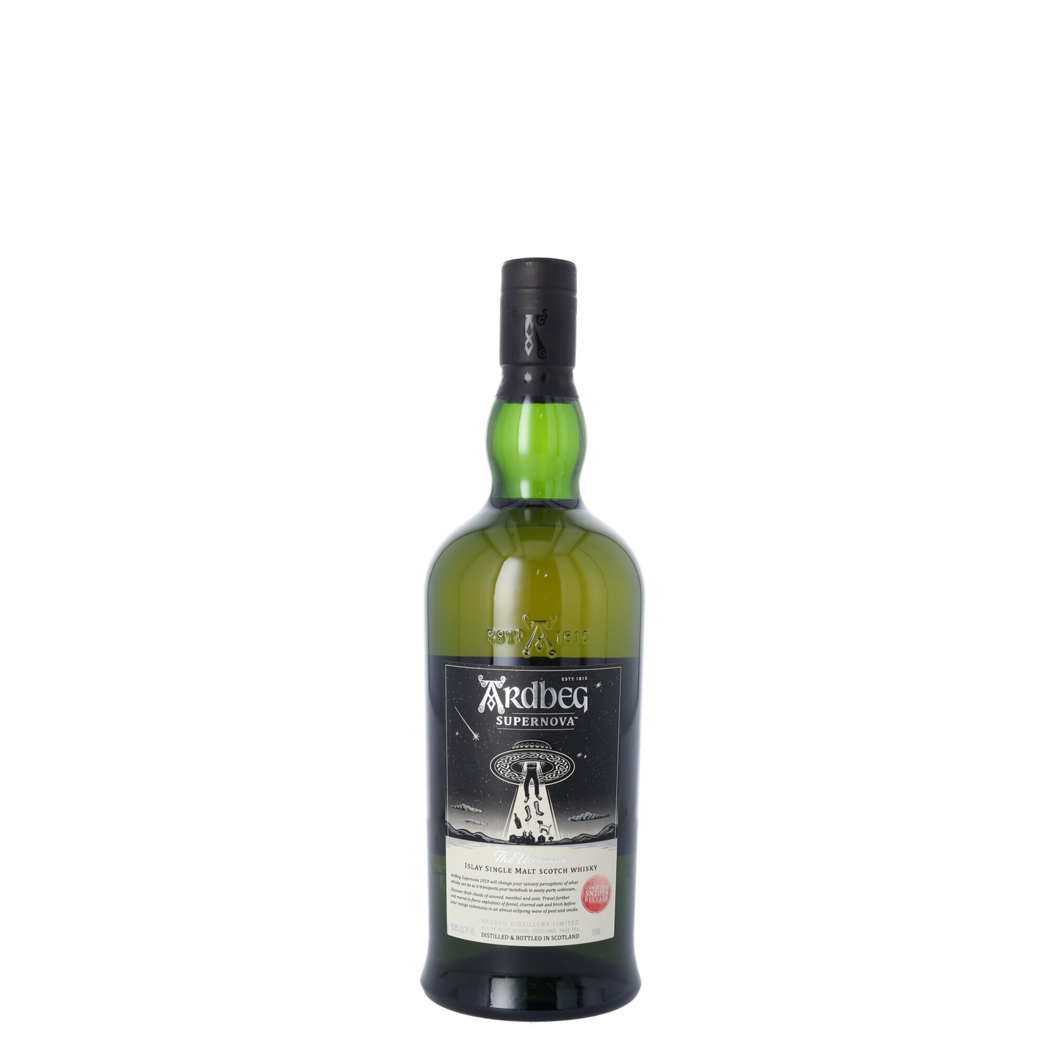 View full screen - View 1 of Lot 83. Ardbeg Supernova Committee Release SN2019 53.8 abv NV (1 BT75).