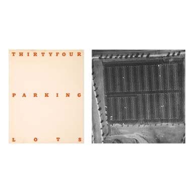 ED RUSCHA   THIRTYFOUR PARKING LOTS IN LOS ANGELES