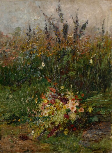View 1. Thumbnail of Lot 109. Summer Flowers of the Field.