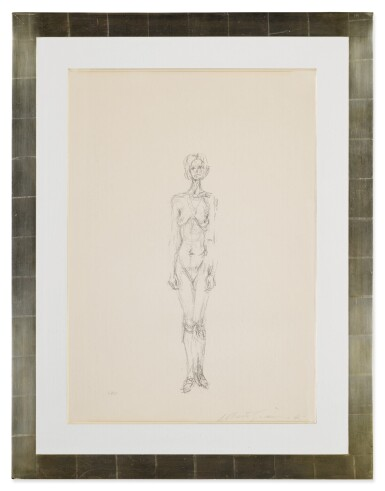 View 2. Thumbnail of Lot 63. Standing Nude II (Lust 36).