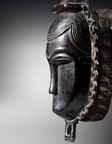 View 3. Thumbnail of Lot 31. Masque, Yauré, Côte d'Ivoire   Yaure mask, Côte d'Ivoire.