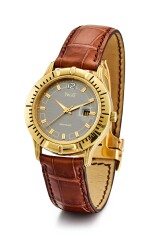 PIAGET   POLO, REFERENCE 24010, A YELLOW GOLD WRISTWATCH WITH DATE, CIRCA 2000