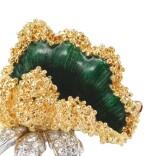 Enamel and diamond brooch [Broche émail et diamants]