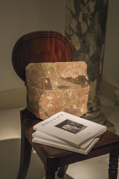 View 5. Thumbnail of Lot 169. A pair of George IV mahogany hall chairs, circa 1825.