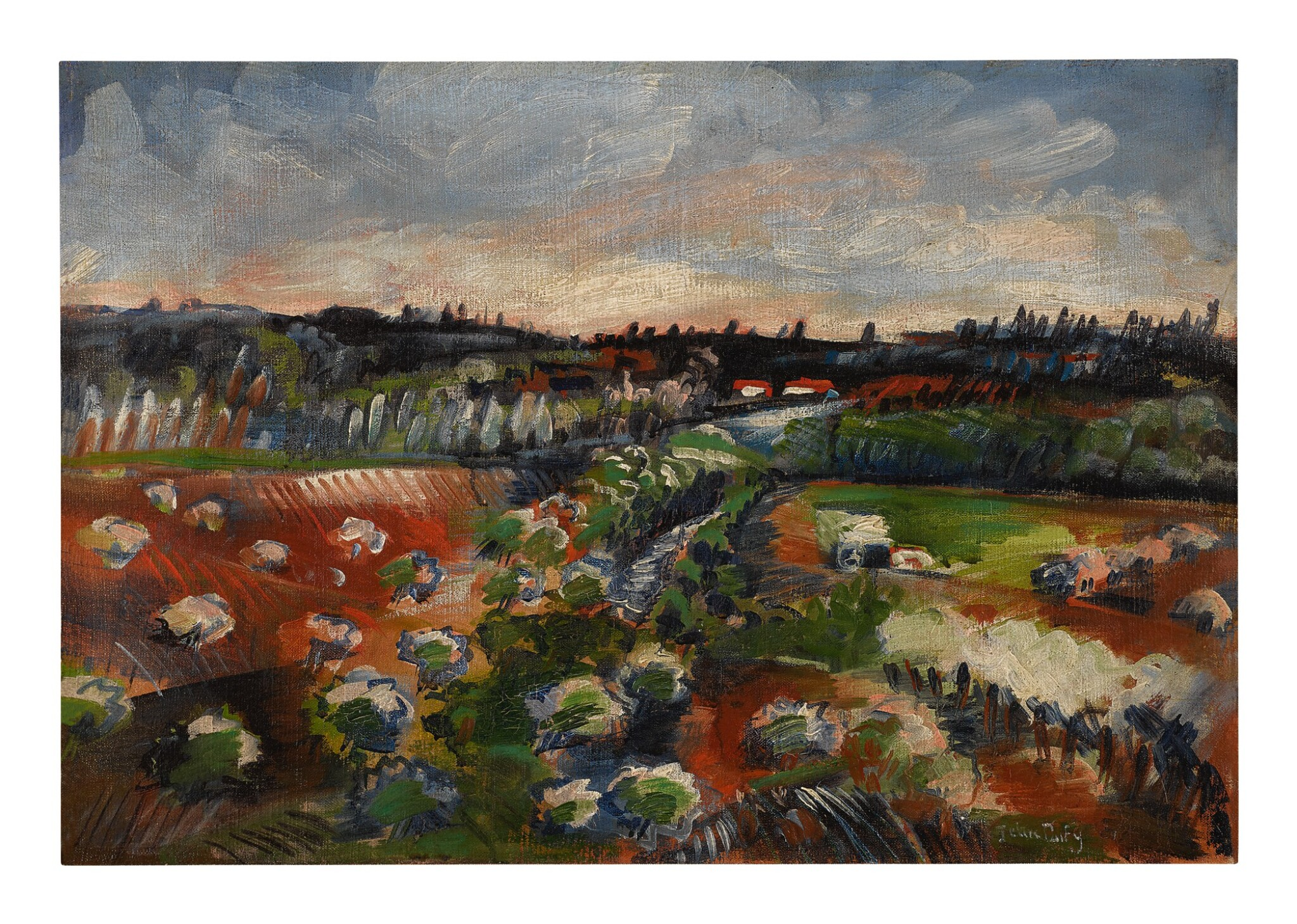 View full screen - View 1 of Lot 36. JEAN DUFY | PAYSAGE.