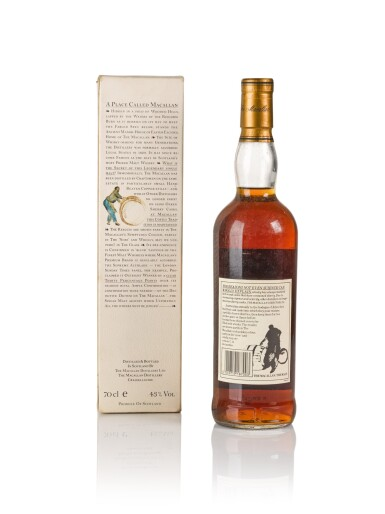 View 2. Thumbnail of Lot 1. The Macallan 18 Year Old 43.0 abv 1976 .