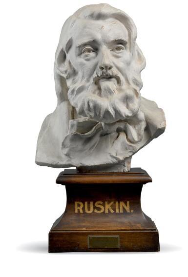 CONRAD DRESSLER | BUST OF JOHN RUSKIN
