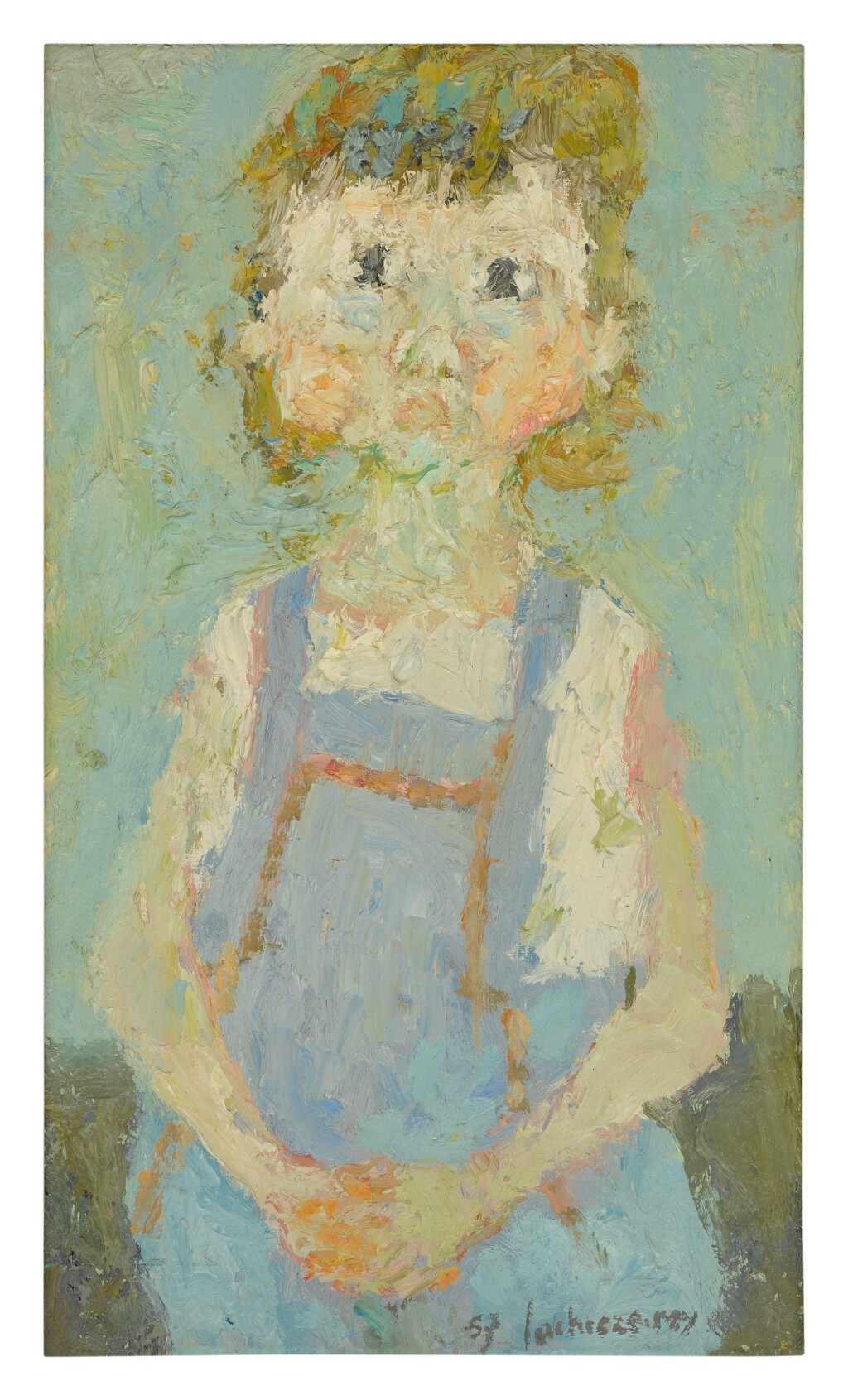 HENRI LACHIÈZE-REY | LITTLE GIRL