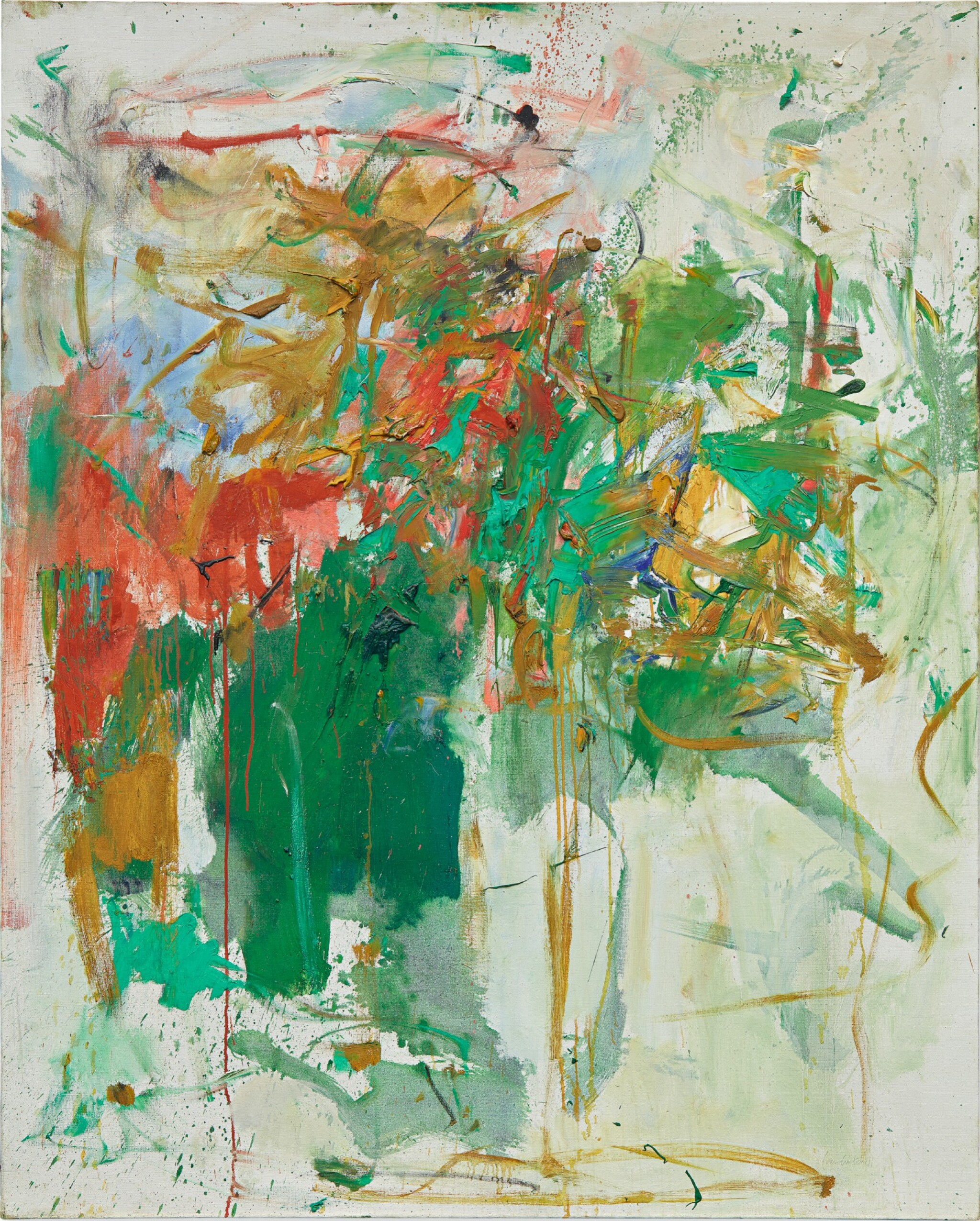 View full screen - View 1 of Lot 7. JOAN MITCHELL | GARDEN PARTY.