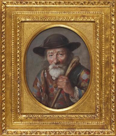 View 2. Thumbnail of Lot 66. J. P. HAUCK | A portrait of a Savoyard.
