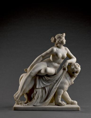 AFTER JOHANN HEINRICH VON DANNECKER (1758-1841), ITALIAN, 19TH CENTURY |  ARIADNE ON THE PANTHER