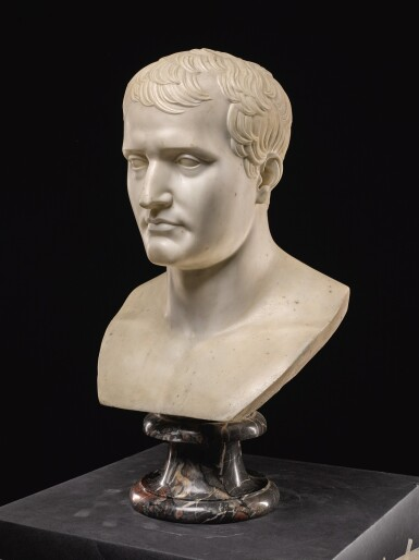AFTER ANTOINE-DENIS CHAUDET (1763-1810), FRENCH, 19TH CENTURY | BUST OF NAPOLEON