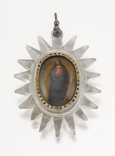 SPANISH, LATE 17TH/ EARLY 18TH CENTURY | Pendant with Saint Lawrence and the Virgin