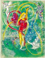 MARC CHAGALL   LE CIRQUE: ONE PLATE (M. 492; C. BKS. 68)