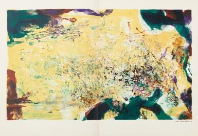 View 3. Thumbnail of Lot 181.  À la gloire de l'image.... Barcelone, 1977. 15 lithographies en couleurs. Edition originale..