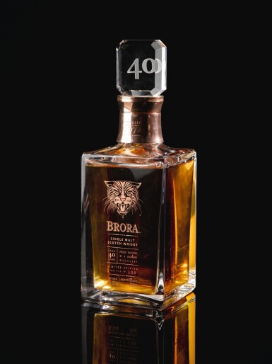 View 4. Thumbnail of Lot 385. BRORA LIMITED EDITION 40 YEAR OLD 59.1 ABV 1972   .