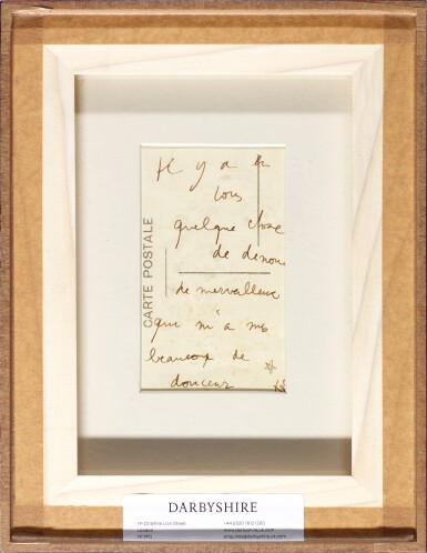 View 3. Thumbnail of Lot 64. MAN RAY | 'JEAN COCTEAU WITH SELF-PORTRAIT WIRE STRUCTURE', CA.1925.
