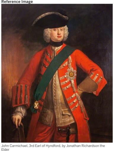 View 2. Thumbnail of Lot 57.  A PAIR OF GEORGE II SILVER DOUBLE-LIPPED SAUCE BOATS, BRITANNIA STANDARD, PAUL DE LAMERIE, LONDON, 1732.