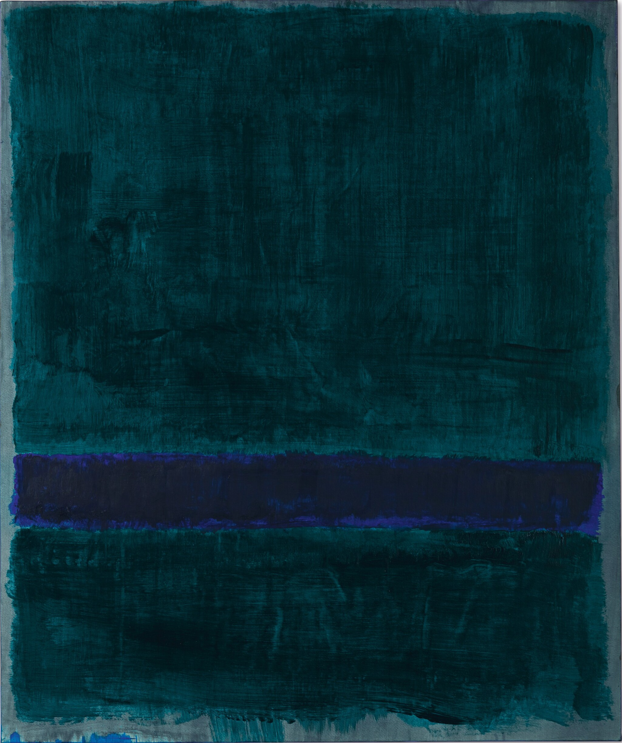 View full screen - View 1 of Lot 110. MARK ROTHKO | GREEN, BLUE, GREEN .