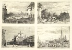 GIOVANNI ANTONIO CANAL, CALLED CANALETTO  |  VEDUTE: FOUR VIEWS (BROMBERG 20, 24, 26, 30)