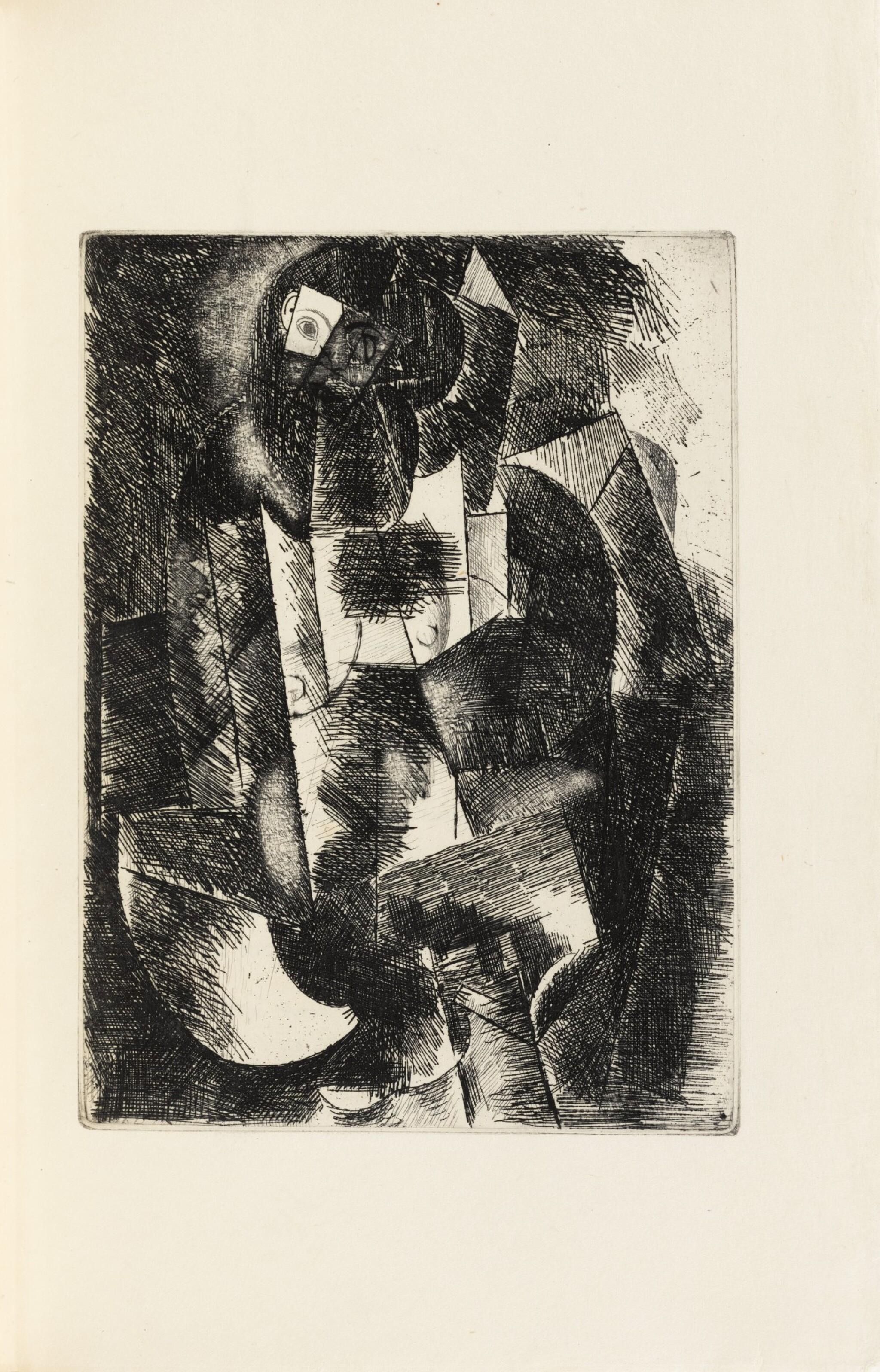 View full screen - View 1 of Lot 133.  Le Siège de Jérusalem. 1914. Sublime exemplaire sur Japon, dans une reliure de Paul Bonet..