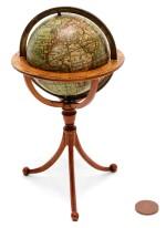 Darton. Terrestrial pocket globe on tripod stand. 1811