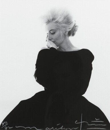 BERT STERN | MARILYN MONROE, BLACK DIOR DRESS, 1962