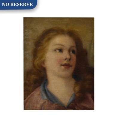 View 1. Thumbnail of Lot 585. Head of a young girl.