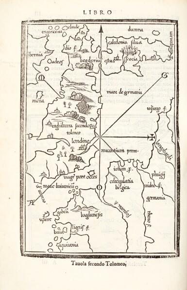 View 1. Thumbnail of Lot 125. Bordone | Isolario, 1547.