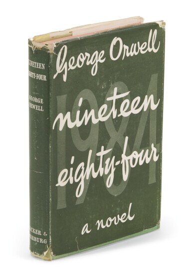 View 1. Thumbnail of Lot 131. Orwell, Nineteen Eighty-Four, 1949.