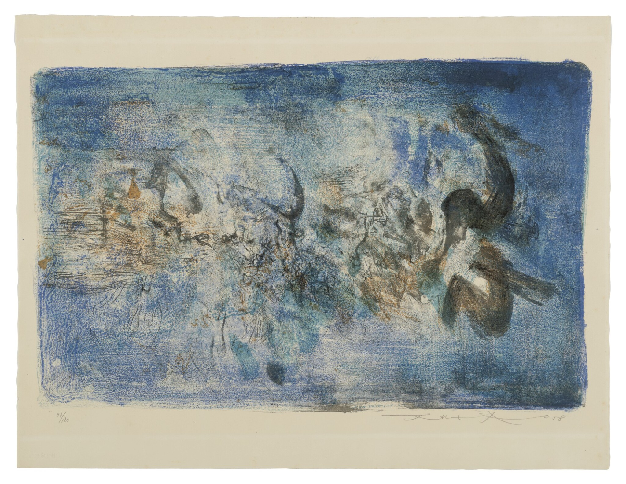 View 1 of Lot 191. Untitled (R. 117).