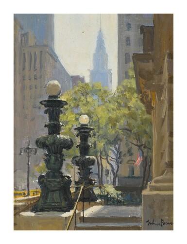 JULIAN BARROW | SIDE ENTRANCE, NEW YORK PUBLIC LIBRARY