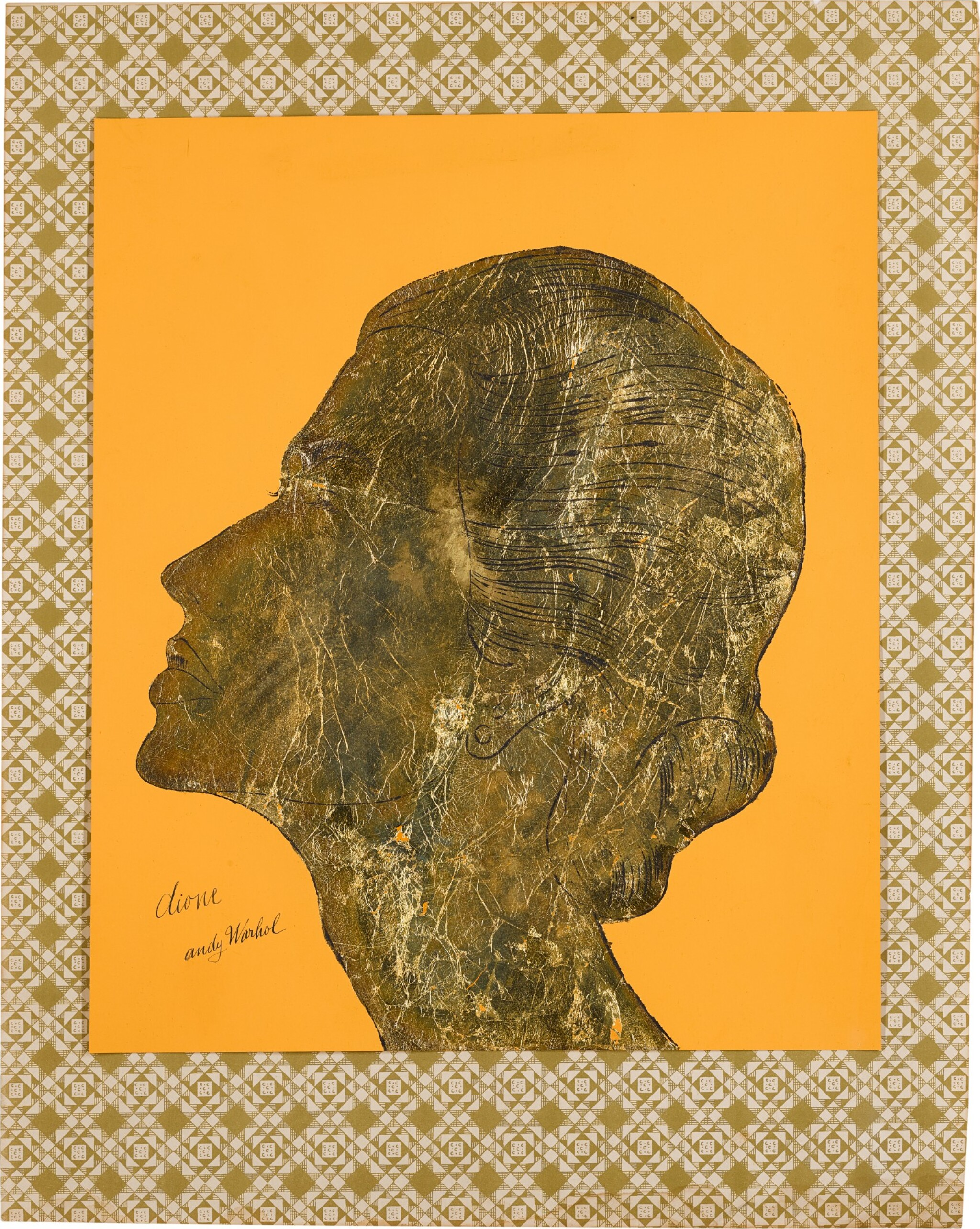 View full screen - View 1 of Lot 237. ANDY WARHOL   DIONE (PORTRAIT OF DIONE GUFFEY KENZER).