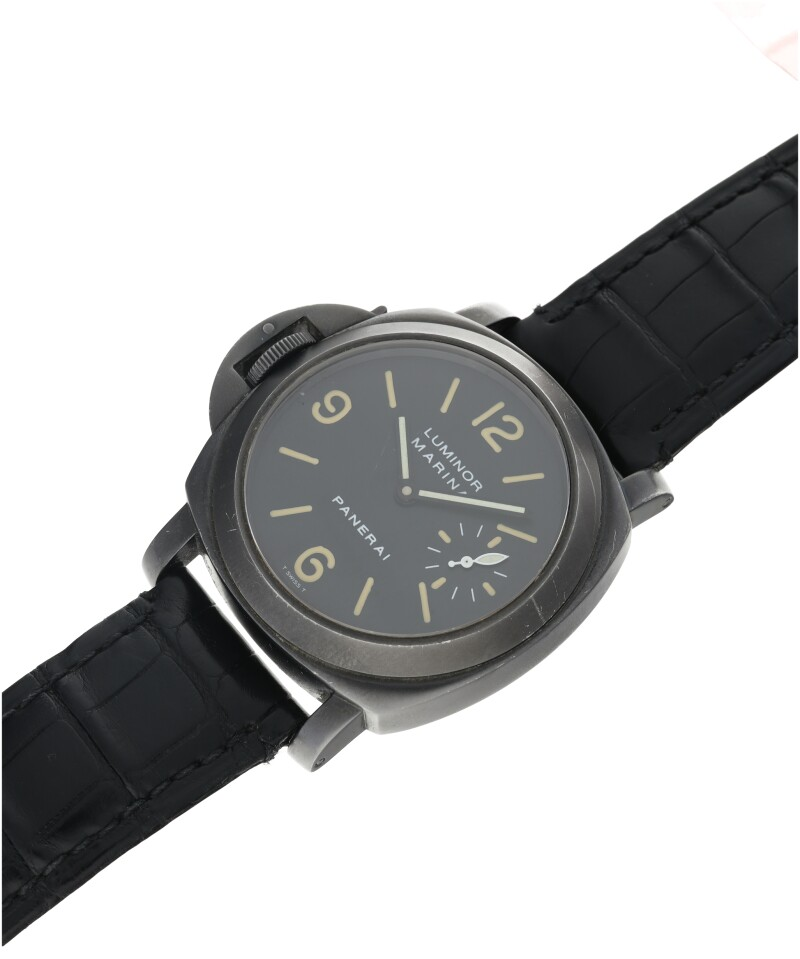 A PVD-Coated Stainless Steel Left-Handed Wristwatch, circa 1998