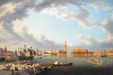 View 1. Thumbnail of Lot 73. Venice, From San Giorgio Maggiore.