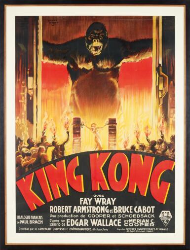 View 2. Thumbnail of Lot 105. KING KONG (1933) POSTER, FRENCH .