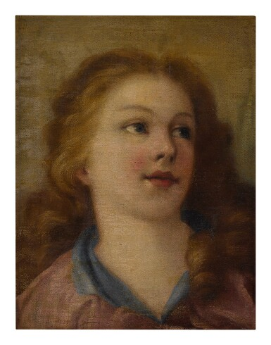 View 2. Thumbnail of Lot 585. Head of a young girl.