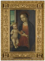 MANNER OF FILIPPO LIPPI | The Madonna and Child with a pomegranate