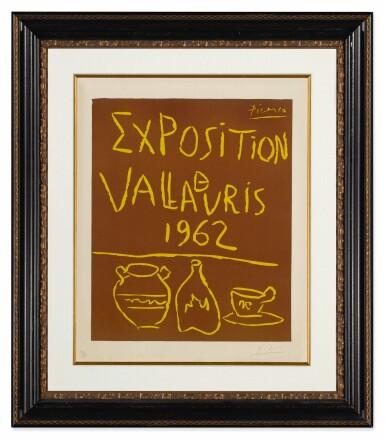 View 2. Thumbnail of Lot 5. PABLO PICASSO | EXPOSITION DE VALLAURIS 1962 (B. 1299; BA. 1335).